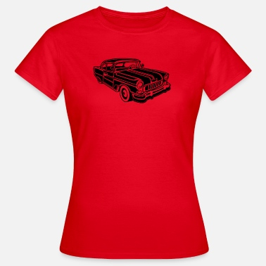 Chevy Chevy Cadilac / Muscle Car 02_schwarz - Camiseta mujer
