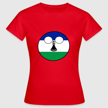 Home Country Countryball Country Home Lesotho - Women's T-Shirt