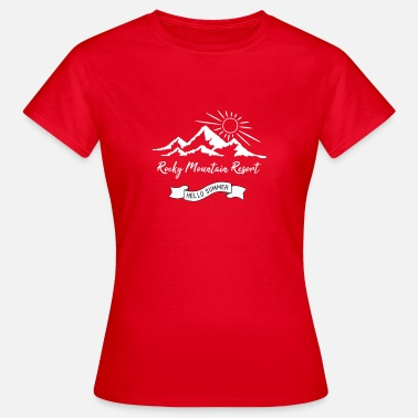 Rocky Mountains Rocky Mountain Resort - Camiseta mujer