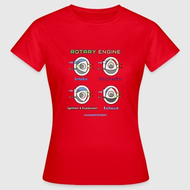 Production Engineer rotary engine - Women's T-Shirt