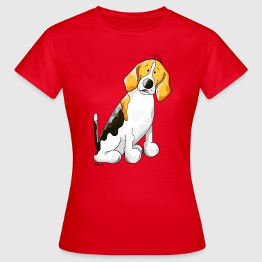 Bobby Beagle - Women's T-Shirt