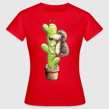Hedgedog In Love - Women's T-Shirt