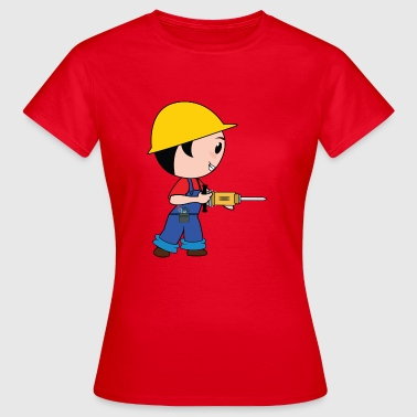 Road Construction construction worker construction worker road construction tierfb - Women's T-Shirt