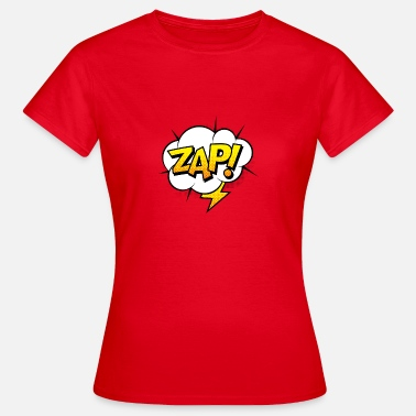 The Comic Strip Presents Comic Comicstyle Comic Strip Superhero Flash - Women's T-Shirt