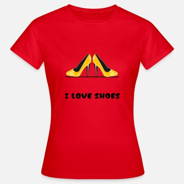Pumps I love Shoes - Frauen T-Shirt