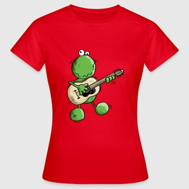 Pop Rock Rock and Pop Frog - Grenouille - T-shirt Femme