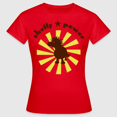 Label shetty power - Frauen T-Shirt
