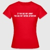 If you are not angry, you are not paying attention - Women's T-Shirt
