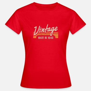 1948 Vintage MADE IN 1948 - Women's T-Shirt