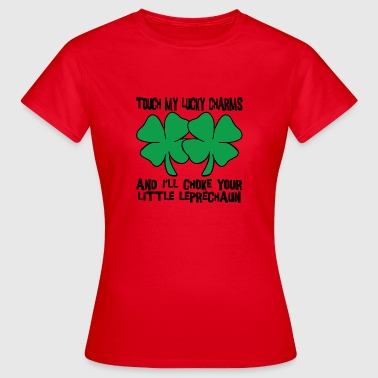 Fourleaf Clover Irish My Lucky Charms Saint Patrick's Day - Women's T-Shirt