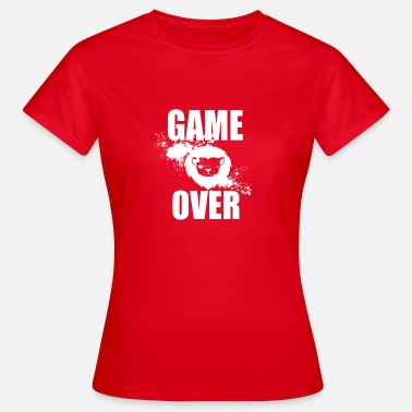 Gamere Gamer - Game Over - Dame-T-shirt