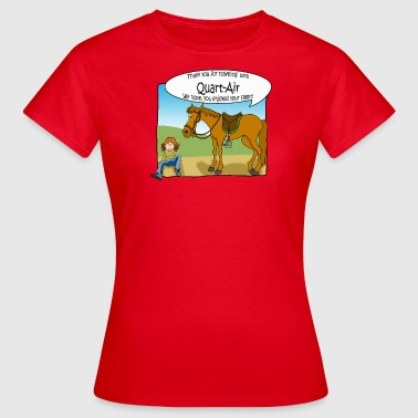 Quarter - Frauen T-Shirt