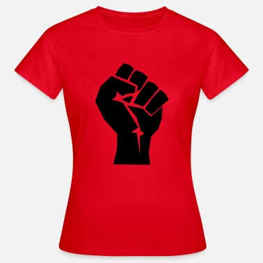 Marxism Fist politics revolution gift body hand - Women's T-Shirt