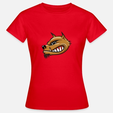 Airbrush Hyena cartoon airbrush - Vrouwen T-shirt