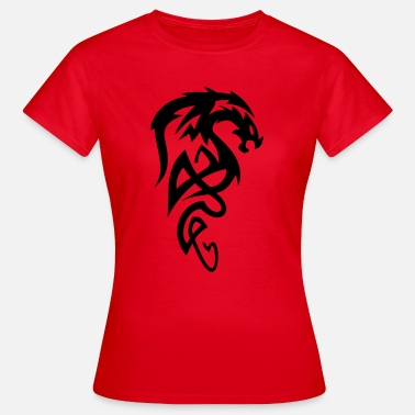 Tribal Dragon Tribal dragon - Women's T-Shirt
