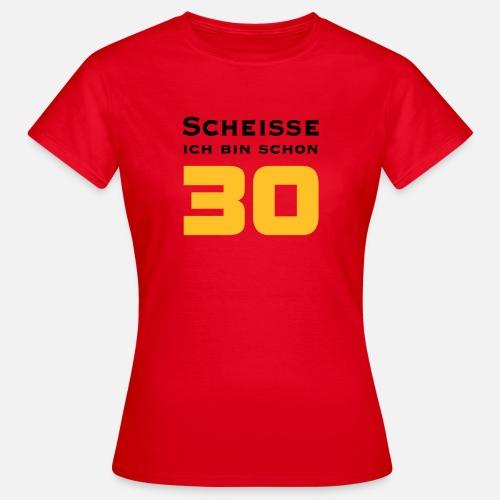 30 Geburtstag Geschenk Cool Geburtstags T Shirt Frauen T Shirt