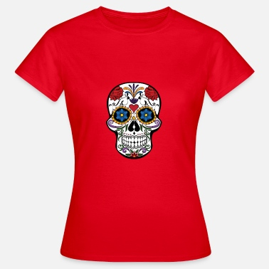 Funky Skull Skull and roses - Women's T-Shirt