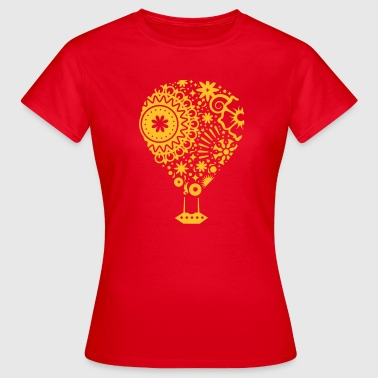 Un ballon à air chaud - T-shirt Femme