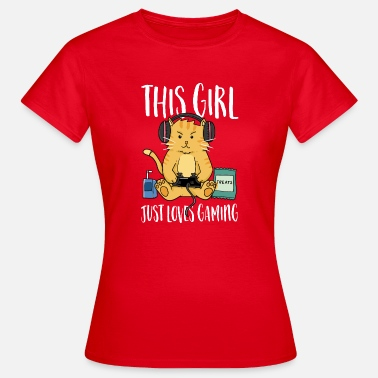 Role Playing Game This girl loves to play games - Women's T-Shirt