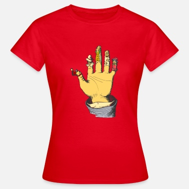 Puppet Theatre glove puppet - Women's T-Shirt