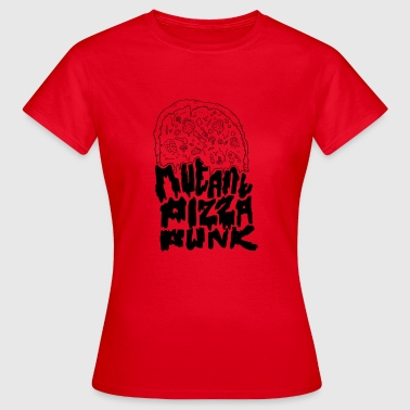 Mutant Pizza Punk Shirt - Maglietta da donna
