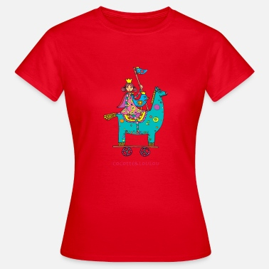 Day Trip The princess on a trip - Women's T-Shirt