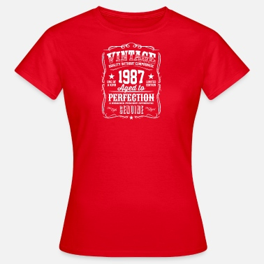 Premium Vintage 1987 Aged To Perfection Vintage 1987 Aged to Perfection - Women's T-Shirt