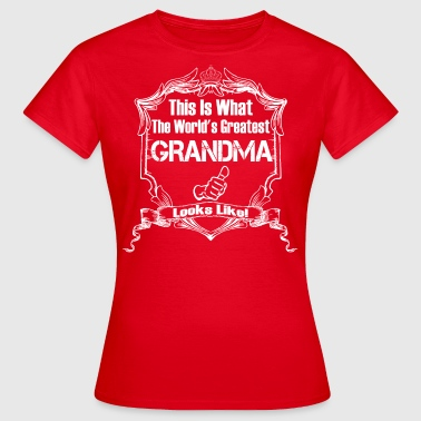 Worlds Greatest Grandma  Looks Like - Women's T-Shirt