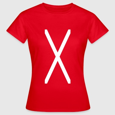 Cross of Saint Andrew_sa1 - Women's T-Shirt