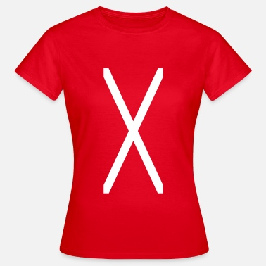 Sadomasochism Cross of Saint Andrew_sa1 - Women's T-Shirt