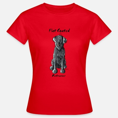 Flat Coated Retriever Funny Flat Coated Retriever - Women's T-Shirt