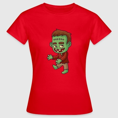 Halloween Frankenstein Frankenstein Halloween - Women's T-Shirt
