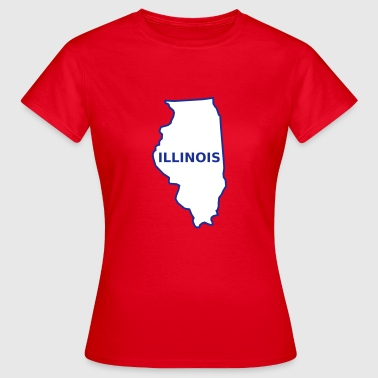 Illinois - Dame-T-shirt