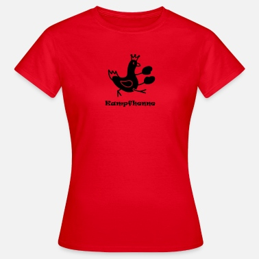 Chicken Provocative Game hen - Women's T-Shirt
