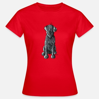 Flatcoated Retriever Flatcoated Retriever - Flat Coated Retriever - Vrouwen T-shirt