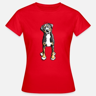 Grote Hond Grote Zwitserse Sennenhond - Hond - Honden - Vrouwen T-shirt