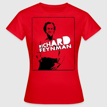 Richard Feynman - Women's T-Shirt