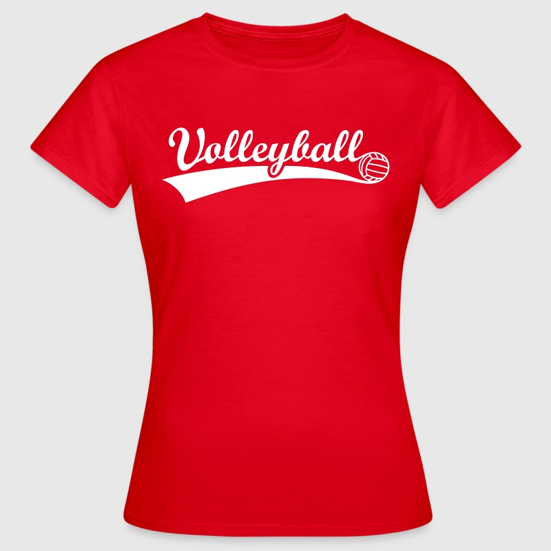 Volleyball Ball Volley  - Frauen T-Shirt