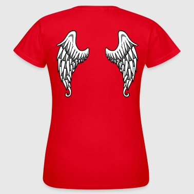 Angel Angel Wings - Vrouwen T-shirt