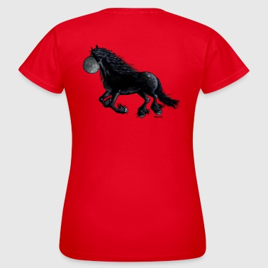 Friesian Black Friesian - Friesian Horse - Women's T-Shirt