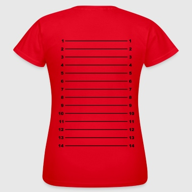 Length Check T-Shirt Plain - Women's T-Shirt