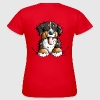 Happy Bernese Mountain Dog - Women's T-Shirt