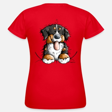 Dog Lovers Happy Bernese Mountain Dog - Women's T-Shirt