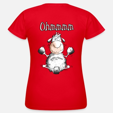 Caricature Ohmmmm Sheep - Women's T-Shirt