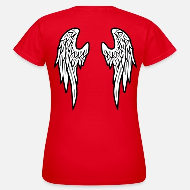 Wings Angel Wings Feather - Vrouwen T-shirt