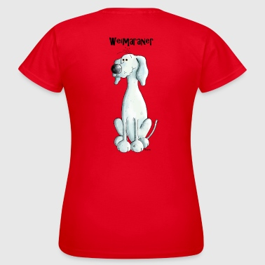 Smarter Weimaraner - Dog - Women's T-Shirt