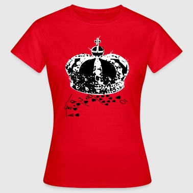 Royal Flush - Frauen T-Shirt