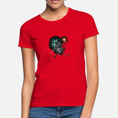 3d creative background - Frauen T-Shirt