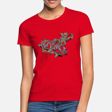 Death Proof – Todsicher roter Kubismus - Frauen T-Shirt