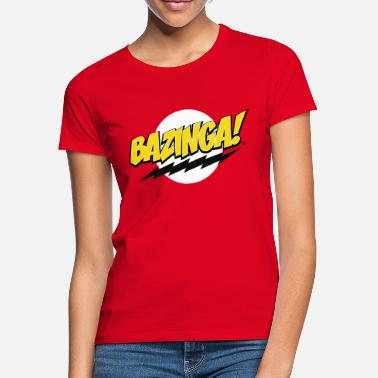 Bazinga The Big Bang Theory Bazinga! teenager T-shirt - Vrouwen T-shirt